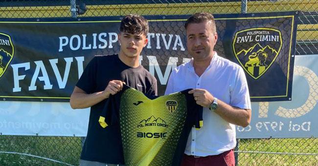La Polisportiva Favl Cimini scommette sulla giovane promessa Luca Romagnoli