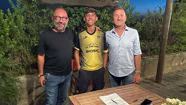 Pfc, altro rinforzo top per l'Under 17: Tommaso Sabatini
