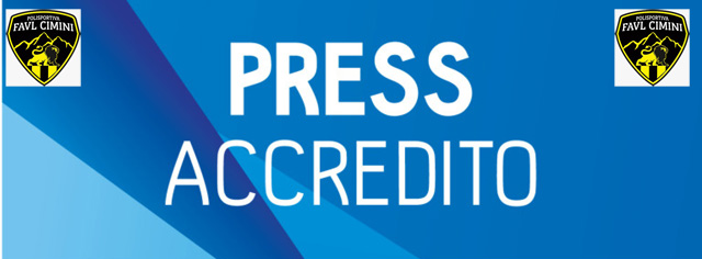 Pfc: le disposizioni per gli accrediti media-stampa