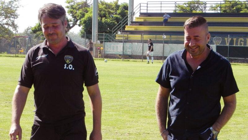 """Capretti: """"Vittoria che la squadra dedica alla famiglia Bertino"""". Oliva: """"Giocato da squadra"""""""