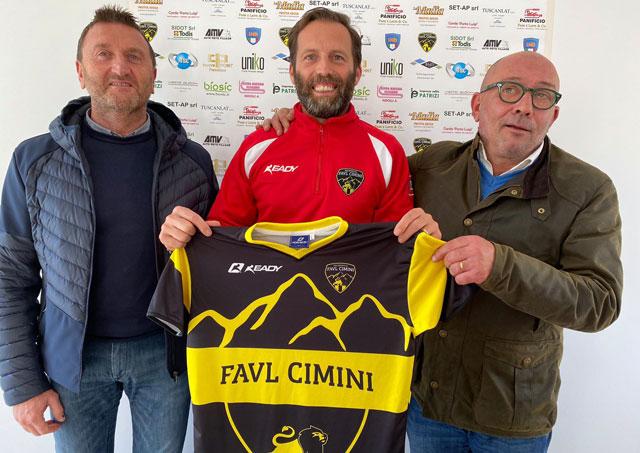 La Polisportiva Favl Cimini dà il benvenuto a mister Stefano Scaricamazza