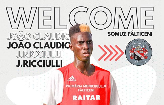 "Joao Ricciulli nei professionisti: ""Grazie Pfc"""