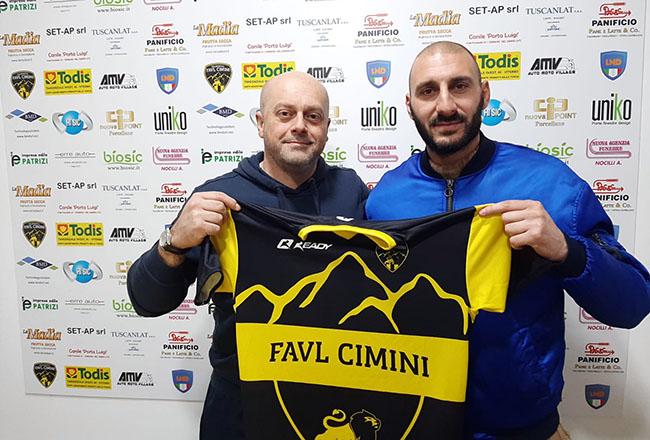 La Favl Cimini rinforza la difesa: ecco l'ex Terano e Nardò Stefano Scipioni