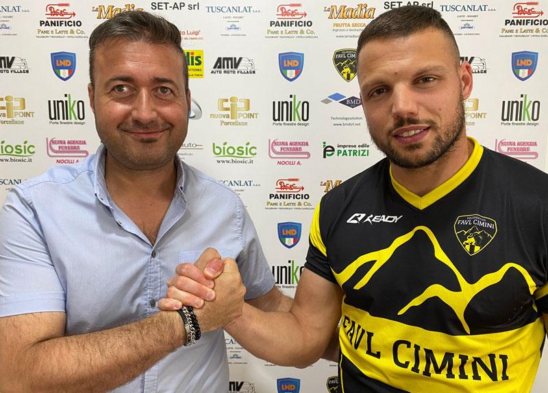 """Mister 40 gol resta alla Pfc. Manuel Vittorini: """"Felice di essere al centro del progetto. Insieme a Scorsini per arrivare lassù"""""""