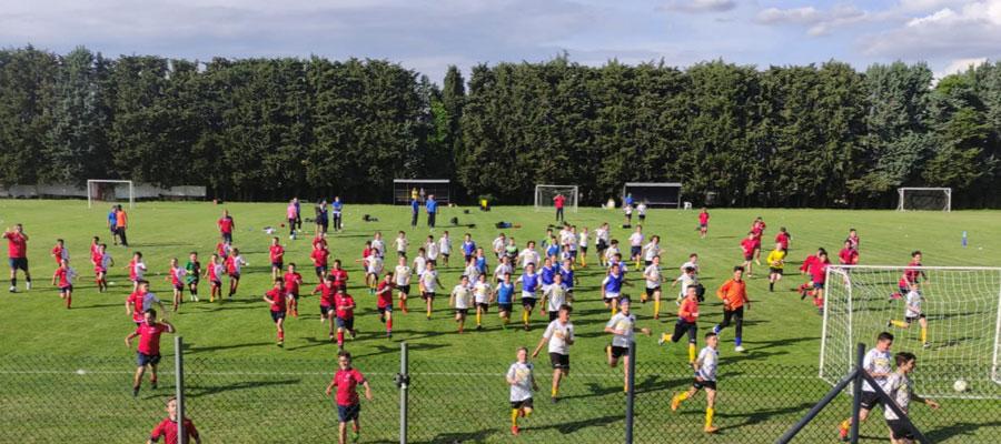 Scuola Calcio Pfc fa il pieno nel raduno dei point a Vignanello